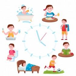 Atividades do quotidiano para crianças e jovens